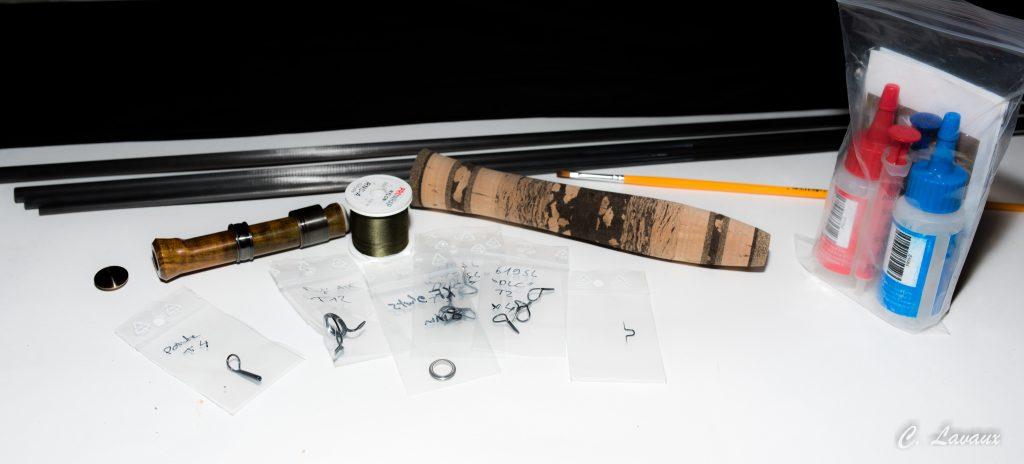 Tarfis kits de montage de canne